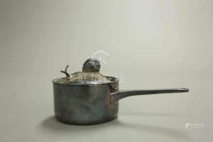 銀製蝸牛小鍋