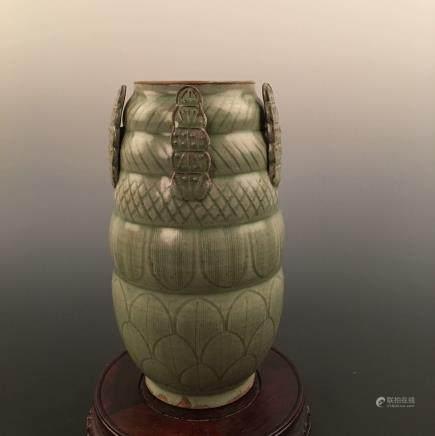 Chinese Yueyao Porcelain Pot