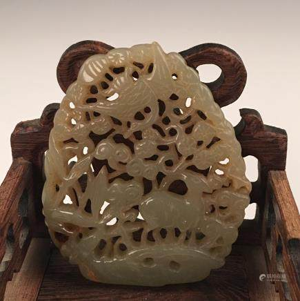 Chinese Jade With Openwork
