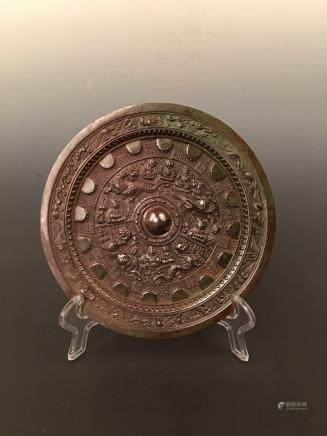 Chinese Bronzen Mirror