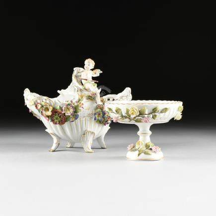 attributed to VON SHIERHOLZ PORCELAIN MANUFACTURERS, A