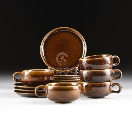 A GROUP OF FIFTEEN PIECES OF RUSSEL WRIGHT (American,