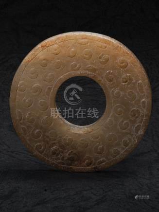 漢 谷紋玉璧
