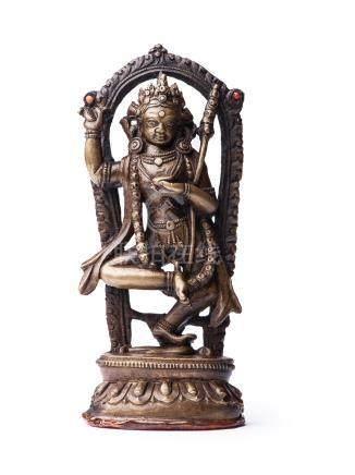 17世紀 銅金剛亥母立像