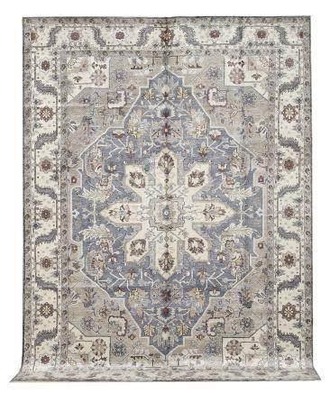 Bamboo Silk Serapi Carpet