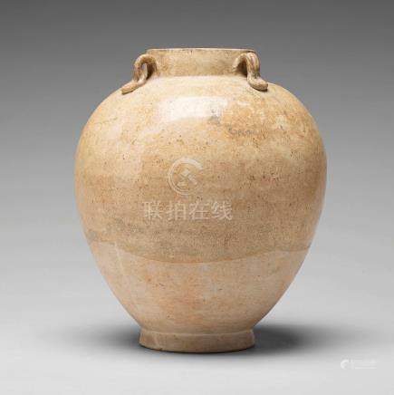A large jar, Tang dynasty (608-906).