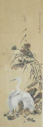 Three Chinese watercolours, 19th/early 20th century.