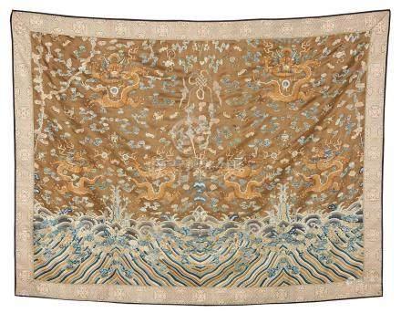 An Embroidered Silk Textile