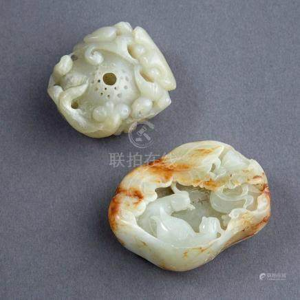 Two Jade Objects