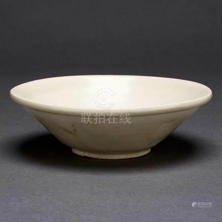 A White Glazed Tea Bowl