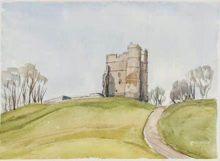 Winifred Nicholson UK 1893-1981 WC on Paper