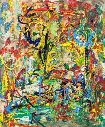 OOC Dutch Abstract Signed de Kooning