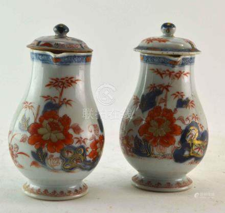 (Asian antiques) Imari pitchers