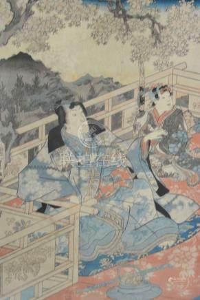 (Asian Antiques) Woodcut