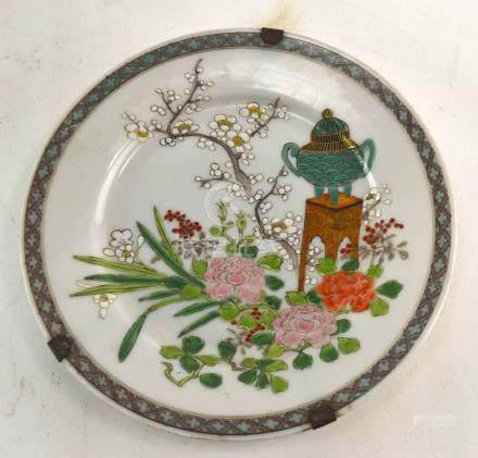 (Asian antiques) Republic plates