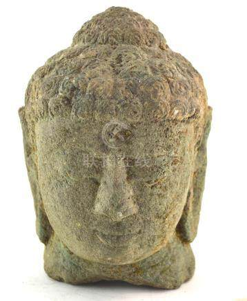 (Asian antiques) Buddha head