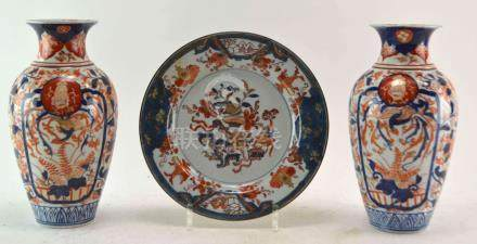 (Asian antiques) Imari vases