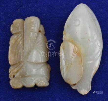 (Asian antiques) Jade carving