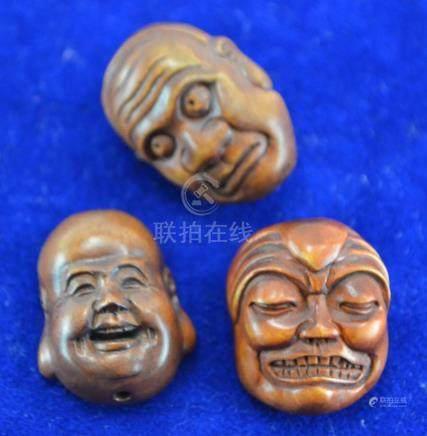 (Asian antiques) Netsukes