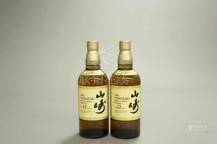 山崎12年2瓶