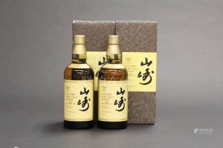 山崎12年2瓶一組