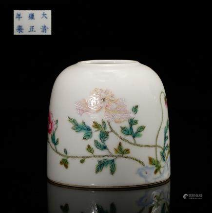 CHINESE FAMILLE ROSE WATER COUPE