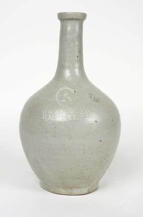 Bouteille à saké. Epoque Edo. XIXe. Japon.