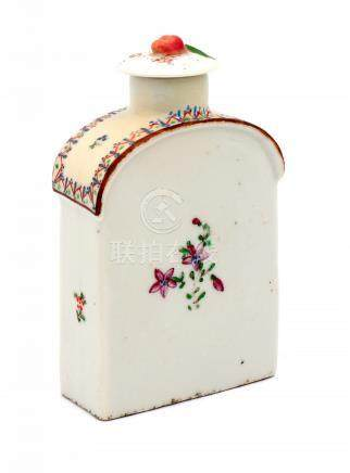 A QIANLONG TEA CADDY