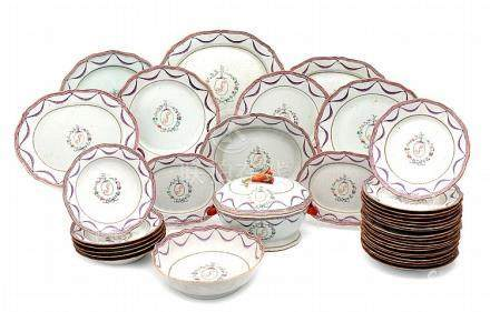 PART OF A QIANLONG DINNER SET