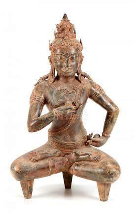 A LARGE BUDDHA