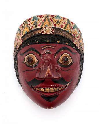 AN INDONESIAN MASK