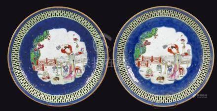 CHINE D'EPOQUE QIANLONG (1711-1799)