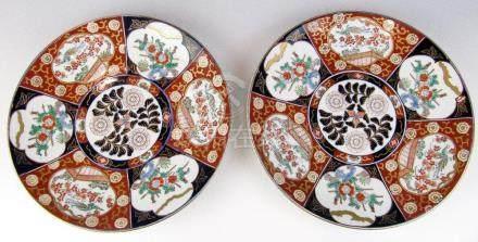 Ein Paar Platten Japan, Imari