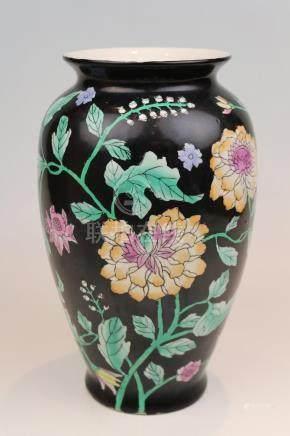 Leicht gebauchte Vase China