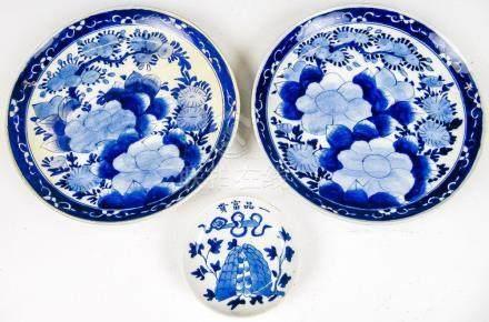 Ein Paar Teller Japan