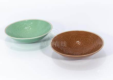 Two Song dynasty glazed bowls