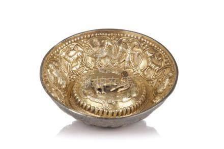 Kleine Schale. Wohl Tibet. 19th cent.