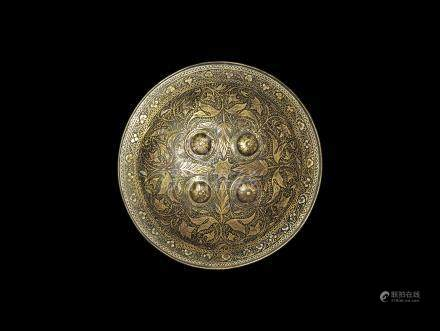 Ottoman Decorated Shield