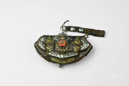 Tibetan Jewelled Purse