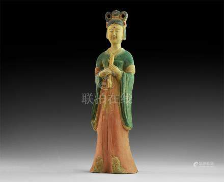 Chinese Style Courtly Lady Statue