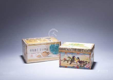 30年代 英美茶莊 烏龍茶、武夷岩茶