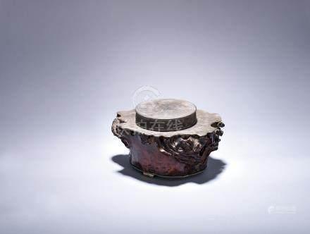 清 奇木錫罐