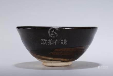 元 磁州窯 茶盞
