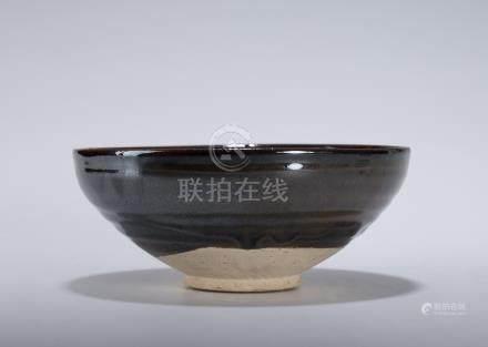 元 北方黑釉茶盞