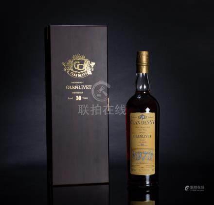可丹尼 Clan Denny 格蘭利威Glenlivet 1979年 30年單一麥芽威士忌 二瓶