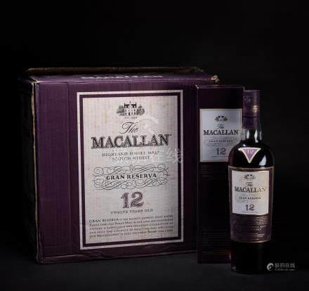 麥卡倫 Macallan 1824年 12年 純麥蘇格蘭威士忌系列 十二瓶