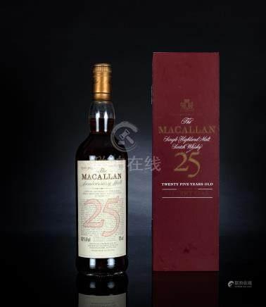 麥卡倫 Macallan 25年 純麥蘇格蘭威士忌
