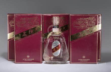 民國80年 金門陳年特級高粱酒 五瓶