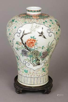 Chinesische Vase in Meiping Form