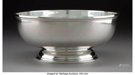An S. Kirk & Son Silver Footed Bowl, Baltimore,